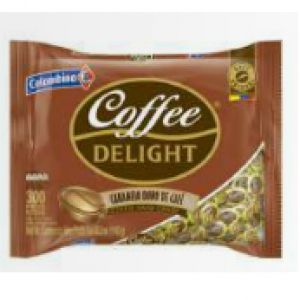 Coffee delight hard candy