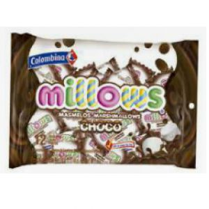 Millows chocolate coated